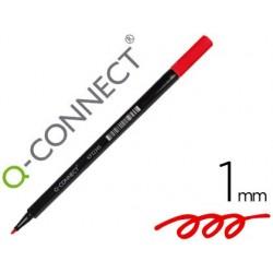 Stylo-feutre q-connect pointe fibre arrondie 1mm coloris...