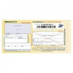 Imprimé recommandé jpc avec ar boîte 100 liasses