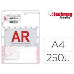 Imprimé recommandé techmay avec ar international format...