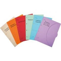 Chemise classeur certiprint a4+ 320x240mm scolaire 6...