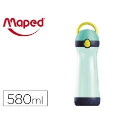 Gourde maped picnik concept 580ml coloris bleu/vert