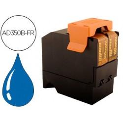 Cartouche d'encre bleue compatible avec neopost ad350b-fr...
