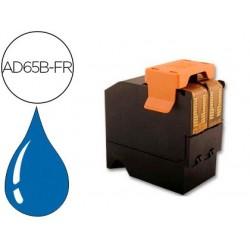 Cartouche d'encre bleue compatible avec neopost ad65b-fr...