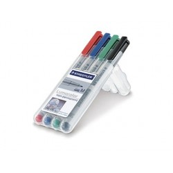 Stylo-feutre staedtler lumocolor soluble écriture fine...