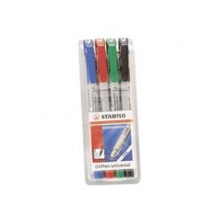Stylo-feutre stabilo ohp pen soluble pointe fine 0.7mm...