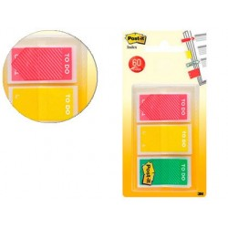 Marque-pages post-it index to do 23.8x43.1mm 60f coloris...