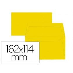 Enveloppe oxford c6 114x162mm 120g gommée coloris jaune...