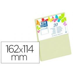 Enveloppe oxford c6 114x162mm 120g gommée coloris vanille...