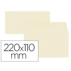 Enveloppe oxford vélin 110x220mm 120g coloris vanille...