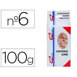 Bracelet caoutchouc sign étroit 60x1.5mm boîte 100g