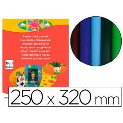 Papier dessin clairefontaine lissé gommé 25x32cm coloris...