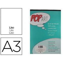 Bloc de toiles pébéo pop art coton peinture format a3...