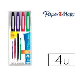 Stylo-feutre paper mate flair original pointe moyenne 1mm...