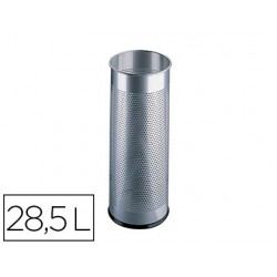 Porte-parapluies durable métal ajouré capacité 285l...