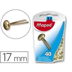 Attache parisienne maped acier laitonné 17mm boîte...