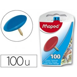 Punaise maped coloris assortis diamètre 10mm boîte...