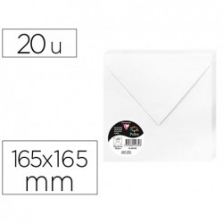 Enveloppe visite clairefontaine pollen 165x165mm 120g...