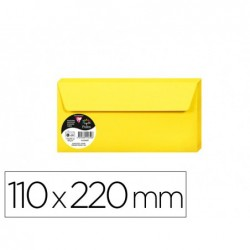 Enveloppe visite clairefontaine pollen 110x220mm 120g...