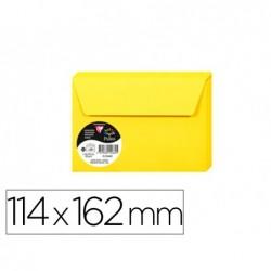 Enveloppe visite clairefontaine pollen c6 114x162mm 120g...