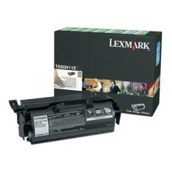 Toner laser lexmark t650h t650h11e couleur noir 25000p