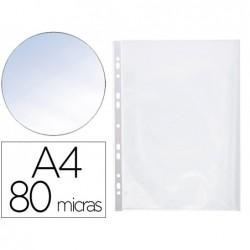 Pochette q-connect polypropylène 8/100e perforée...