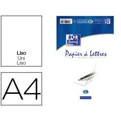 Bloc correspondance oxford papier vélin supérieur 80g/m2...