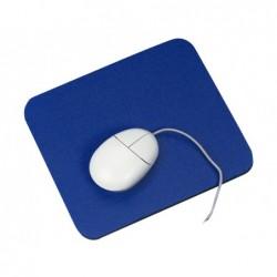 Tapis souris q-connect standard antidérapant coloris bleu
