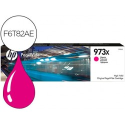 Cartouche hp 973x jet d'encre f6t82ae pagewide pro...