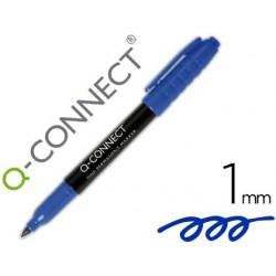 Marqueur q-connect cd-dvd pointe ronde écriture large 1mm...