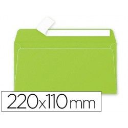 Enveloppe clairefontaine pollen dl 110x220mm 120g coloris...
