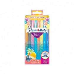 Stylo-feutre paper mate flair tropical pointe moyenne 1mm...