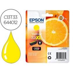Cartouche epson t3364 xl jet d'encre orange claria...