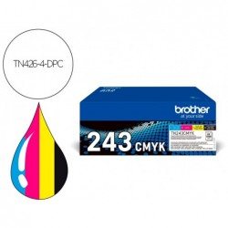 Cartouche brother jet d'encre brother tn426 multipack