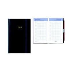 Agenda poche chantier 10x15 bleu