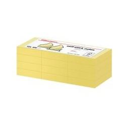 Bloc 100 feuille note 38x51 jaune (x12)