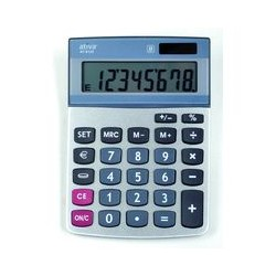 Calculatrice AT812E 8 chiffres Ativa