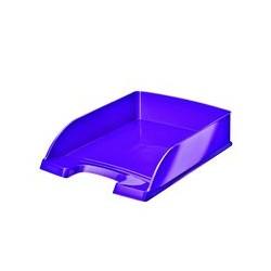 Corbeille à courrier violet Leitz WOW
