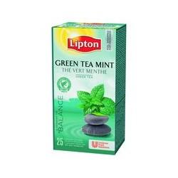 Thé vert à la menthe Lipton (x25)