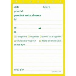 Carnet -En votre absence- 10.5x14