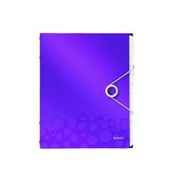 Trieur de document 12 touches Wow violet