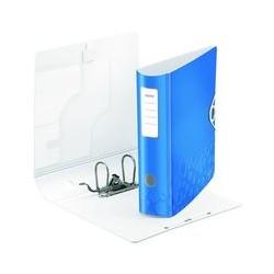 Classeur levier Active wow dos 8cm bleu