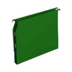 Dossier suspendu vert 30 mm armoire(x25)