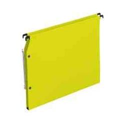 Dossier suspendu jaune 15mm armoire(x25)