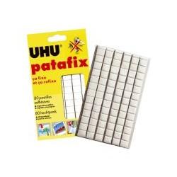 Pastille pate adh blanche patafix (x80)