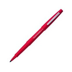 Stylo feutre fin Paper Mate Flair rouge
