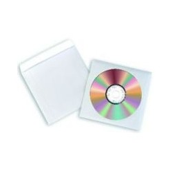 Enveloppes papier Fellowes CD DVD(x50)