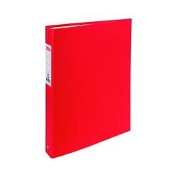 Classeur 4 anneaux standard OD rouge