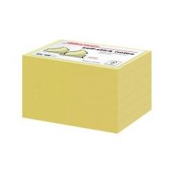 Bloc 100 feuille note 76x51 jaune (x12)