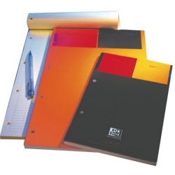 Bloc notepad perforé travers 80g A4