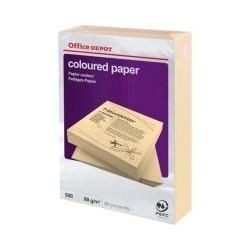 Papier saumon pastel OD A4 80g (x500)